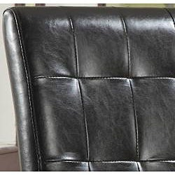 Tufted Chocolate Parsons Chair (Set of 2) - Thumbnail 1