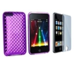 INSTEN TPU iPod Case Cover and Screen Guard for iPod Touch Gen 2/ 3