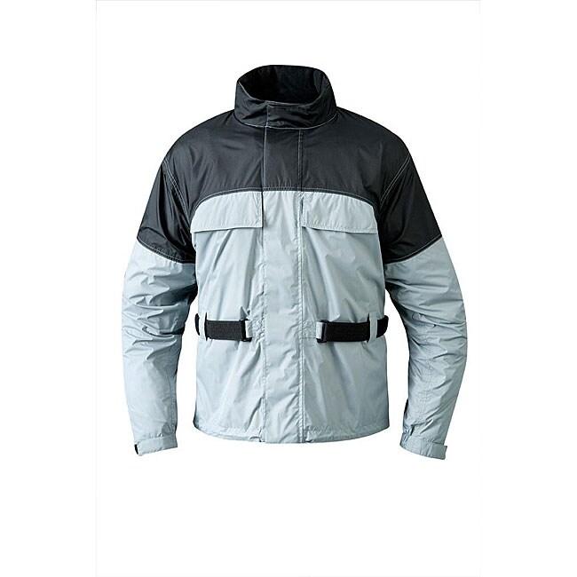 Mossi Men's RX 1 Silver Rain Jacket