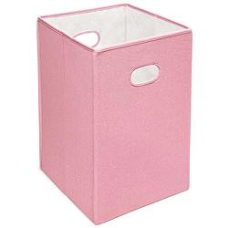 Badger Basket Pink Folding Storage Hamper