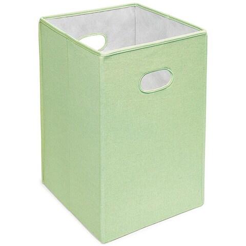 Badger Basket Sage Folding Hamper and Storage Bin