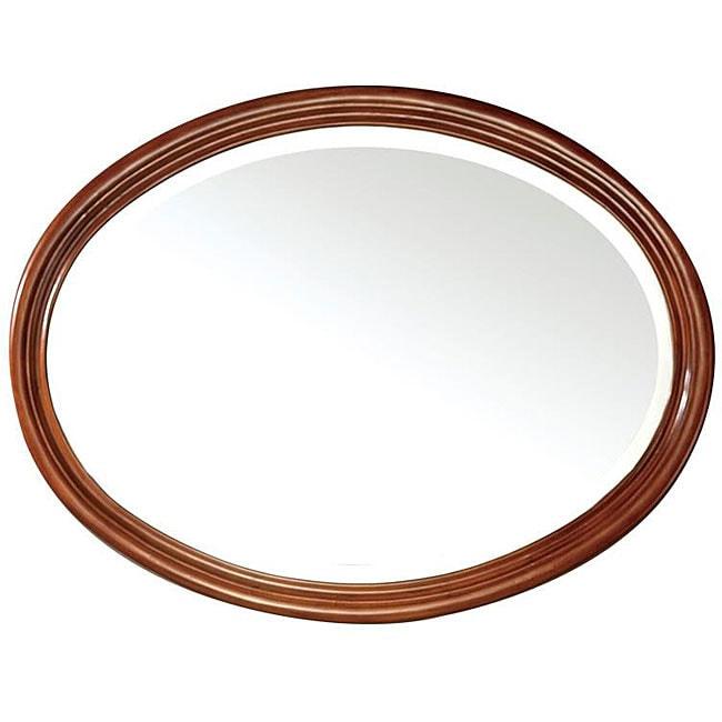 Avanity Oxford 25-inch Mirror in Dark Oak Finish