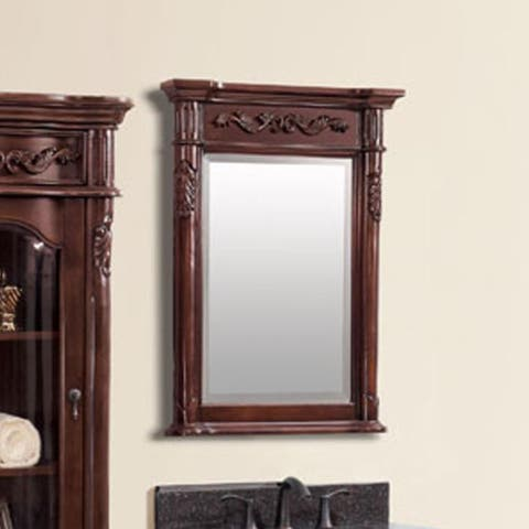 Avanity Provence Wall Mirror - Antique Cherry - Antique Cherry