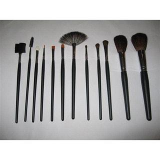 shop master makeup 12piece brush set  free shipping on