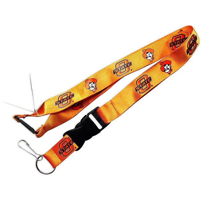 Oklahoma State Cowboys ID Ticket Clip/ Keychain Lanyard