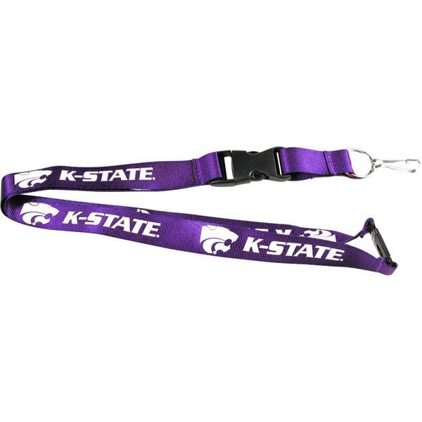 Kansas State Wildcats Clip Lanyard Keychain ID Ticket Holder