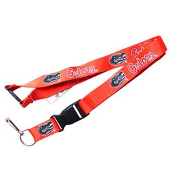 Florida Gators Orange Lanyard Keychain