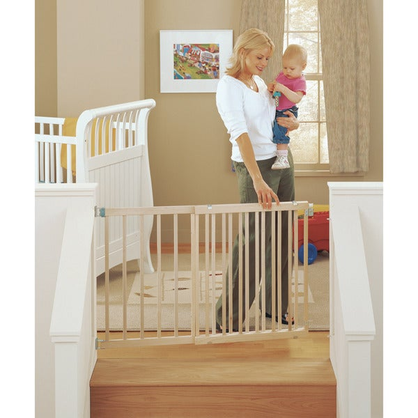 North States Wide Stairway Swing Gate