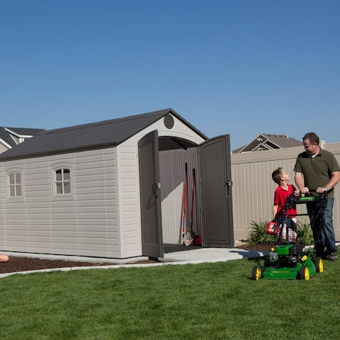 Lifetime Outdoor Storage Shed (8' x 12.5')