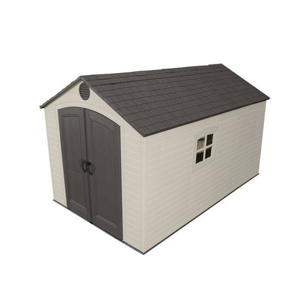 Lifetime Outdoor Storage Shed 8 X 12 5 Free Shipping