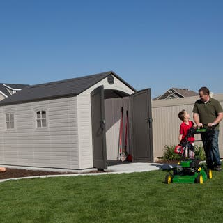 Lifetime Outdoor Storage Shed (8' x 12.5')|https://ak1.ostkcdn.com/images/products/4676211/P12596280.jpg?impolicy=medium