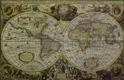 World Map Wall Tapestry - Thumbnail 1