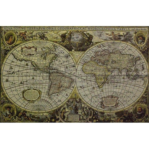 Shop world map wall tapestry free shipping today overstock world map wall tapestry gumiabroncs Images