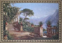 Lodge at Lake Wall Tapestry