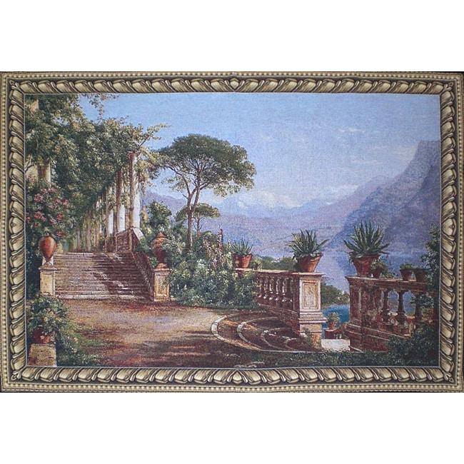 Lodge at Lake 39 x 54-inch Wall Tapestry