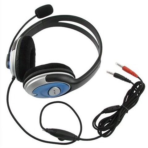 INSTEN Hands-free POTHVOIPHS03 Stereo Headset/ Voip/ Skype Microphone