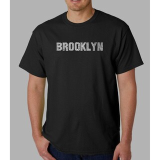Los Angeles Pop Art Men's 'Brooklyn' T-shirt