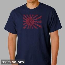Los Angeles Pop Art Men's 'Banzai' T-shirt