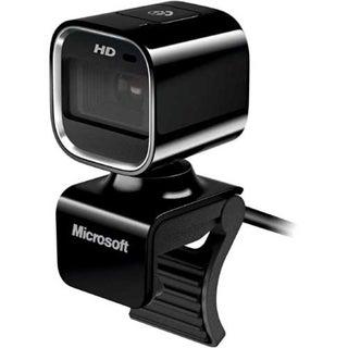 Microsoft LifeCam HD-6000 Webcam - 30 fps - Coal Black - USB