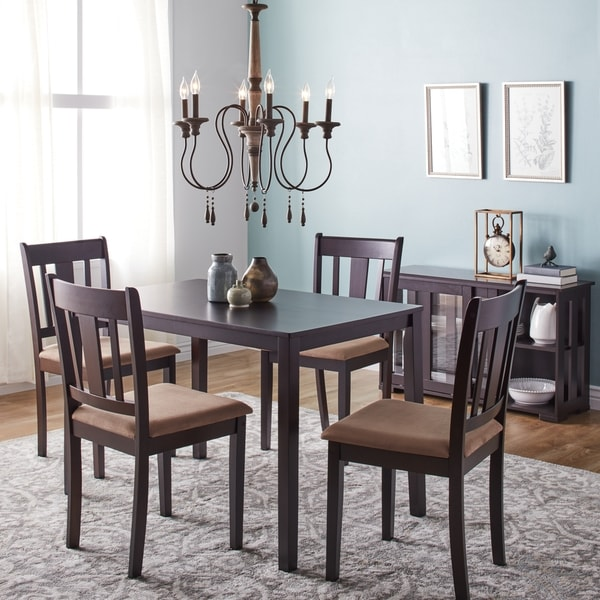 Simple living stratton 5 piece dining set free shipping for 5 piece living room table set