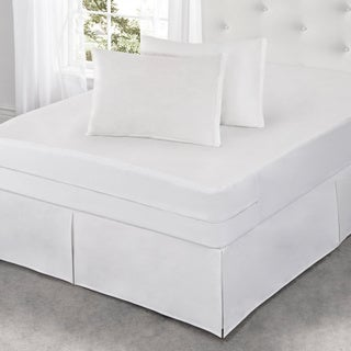 All-In-One Protection with Bed Bug Blocker Cotton Rich Mattress Protector (5 options available)