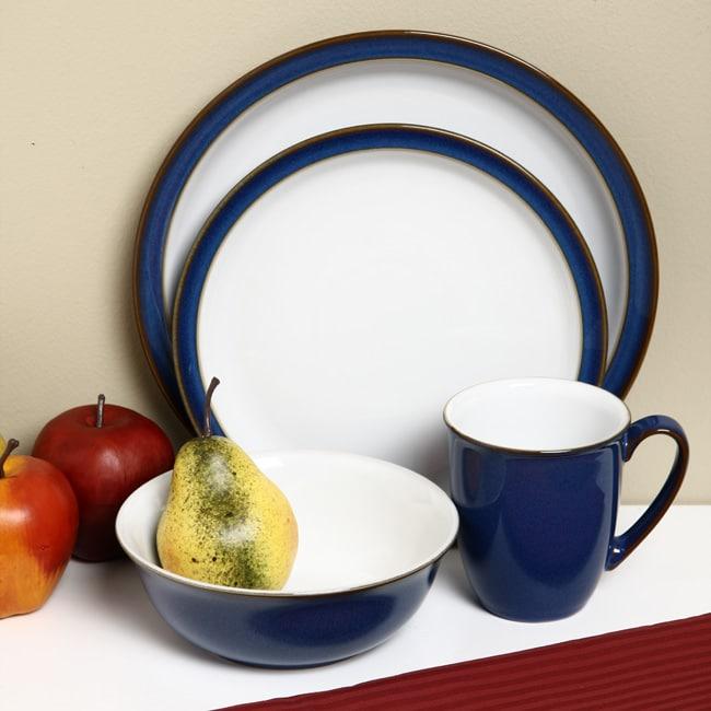 Denby Imperial Blue 16-piece Dinnerware Starter Set