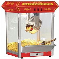 Carnival Style 8-oz Hot Oil Popcorn Machine
