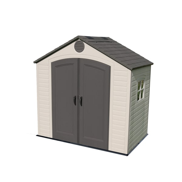 Lifetime storage shed 8 39 x 5 39 free shipping today for Garden shed 5 x 4