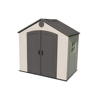 Lifetime Storage Shed (8u0027 x 5u0027) & Buy Outdoor Storage Sheds u0026 Boxes Online at Overstock.com | Our Best ...