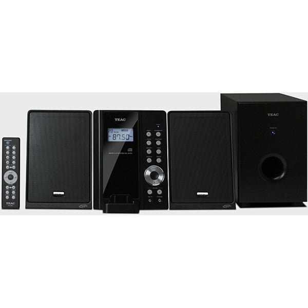 Teac MC-DX50i 2 1 Channel Ultra Thin Hi-Fi iPod System (Refurbished)