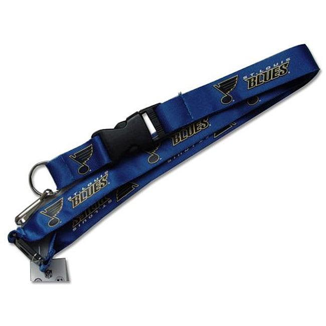 St. Louis Blues Keychain/ ID Lanyard