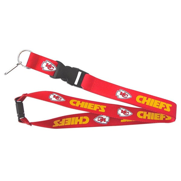 NFL Kansas City Chiefs Keychain Lanyard