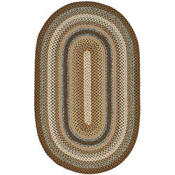 Safavieh Hand-woven Reversible Brown Braided Rug (4' x 6' Oval)|https://ak1.ostkcdn.com/images/products/4682126/Hand-woven-Reversible-Brown-Braided-Rug-4-x-6-Oval-P12600902a.jpg?impolicy=medium