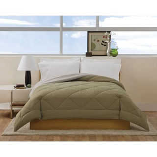 Villa Microfiber Reversible Down Alternative Cozy Comforter