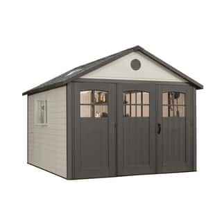 Lifetime Storage Building (11' x 11')|https://ak1.ostkcdn.com/images/products/4682186/P12600930.jpg?impolicy=medium