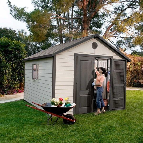 Lifetime Outdoor Storage Shed (11u0026#x27; ...