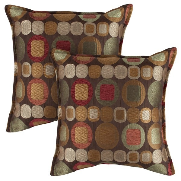 Sherry Kline 18-inch Metro Spice Pillows (Set of 2)