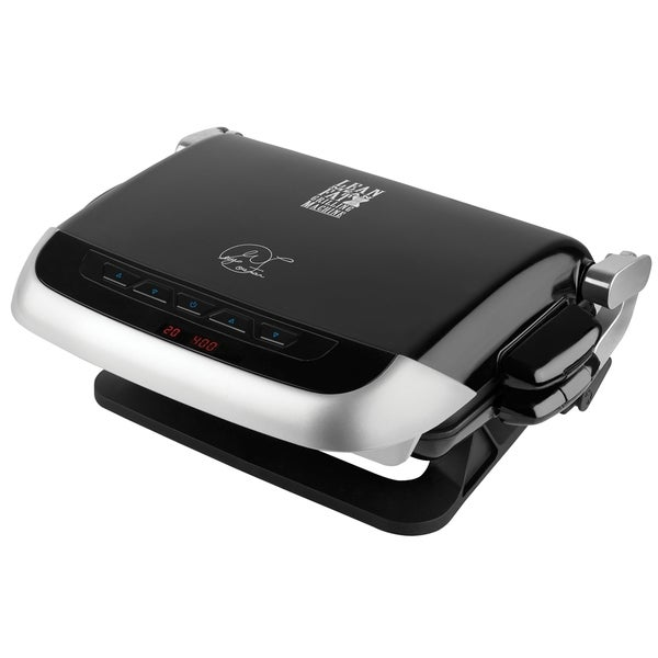 Shop george foreman grp4emb black evolve grill with muffin and bake plates free shipping today - George foreman evolve grill ...