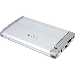 StarTech.com 2.5in USB FireWire SATA External Hard Drive Enclosure