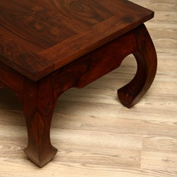 Handmade 47-inch Opium Coffee Table (India) - Thumbnail 2