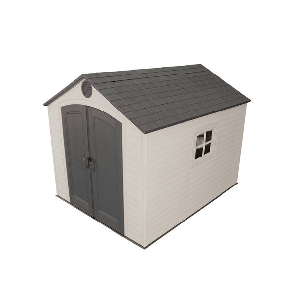 lifetime outdoor storage shed 8 x - Garden Sheds 6 X 10