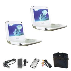 Base DVP-807 8.25-inch Portable DVD Player Kits (Pack of 2)