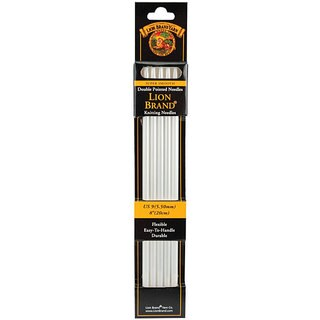 Lion Brand 8-inch Size 9 Double Point Knitting Needles (Pack of 5)