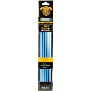 Lion Brand 8-inch Size 10 Double Point Knitting Needles (Pack of 5)