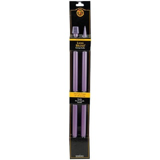 Lion Brand Plum 14-inch Size 17 Knitting Needles (Pack of 2)