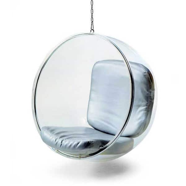 Hanging Bubble Chair Overstock 4685457