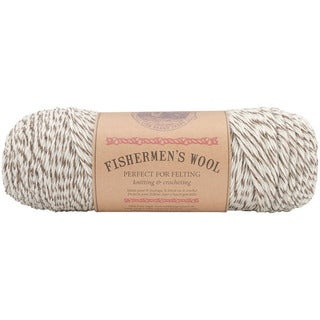 Lion Brand 'Fishermen's' 8-oz Oak Tweed Virgin Wool Yarn