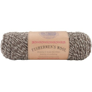 Lion Brand 'Fishermen's' 8-oz Maple Tweed Virgin Wool Yarn