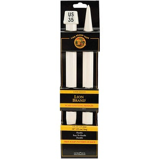 Lion Brand Size 35 10-inch Scarf Knitting Needles (Set of 2)