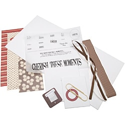 'Cherish These Moments' 10x20-inch Canvas Wall Kit